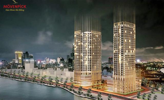 Phối cảnh tổng thể dự án Movenpick Đà Nẵng