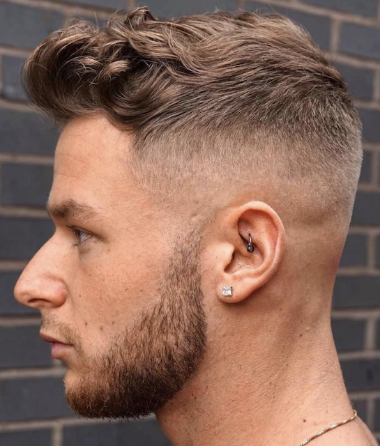 curly short haircuts and hairstyles for men 2019