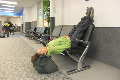 Yoga at LAX and Bob Hope Airport