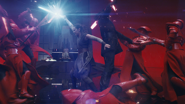 rey and kylo sword fight last jedi