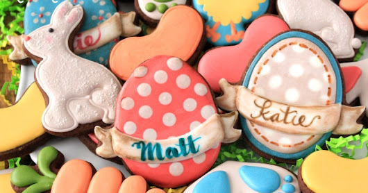 How To Make Personalized Egg Cookies For Easter