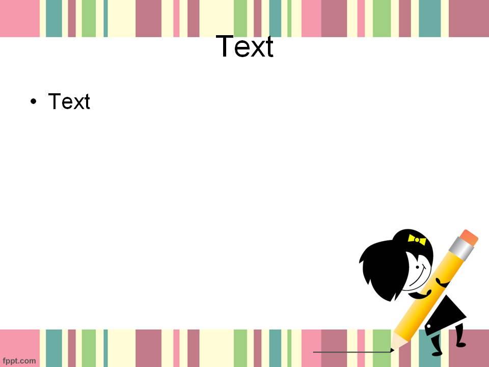 cute powerpoint template 7
