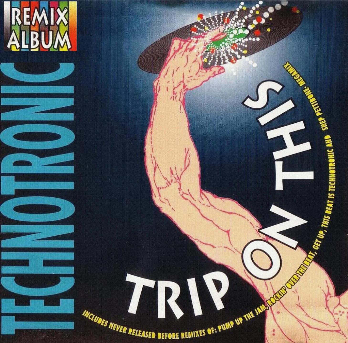 Technotronic Trip On This Vinyl Lp Compilation 1991