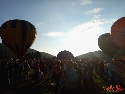 Parada baloanelor cu aer cald