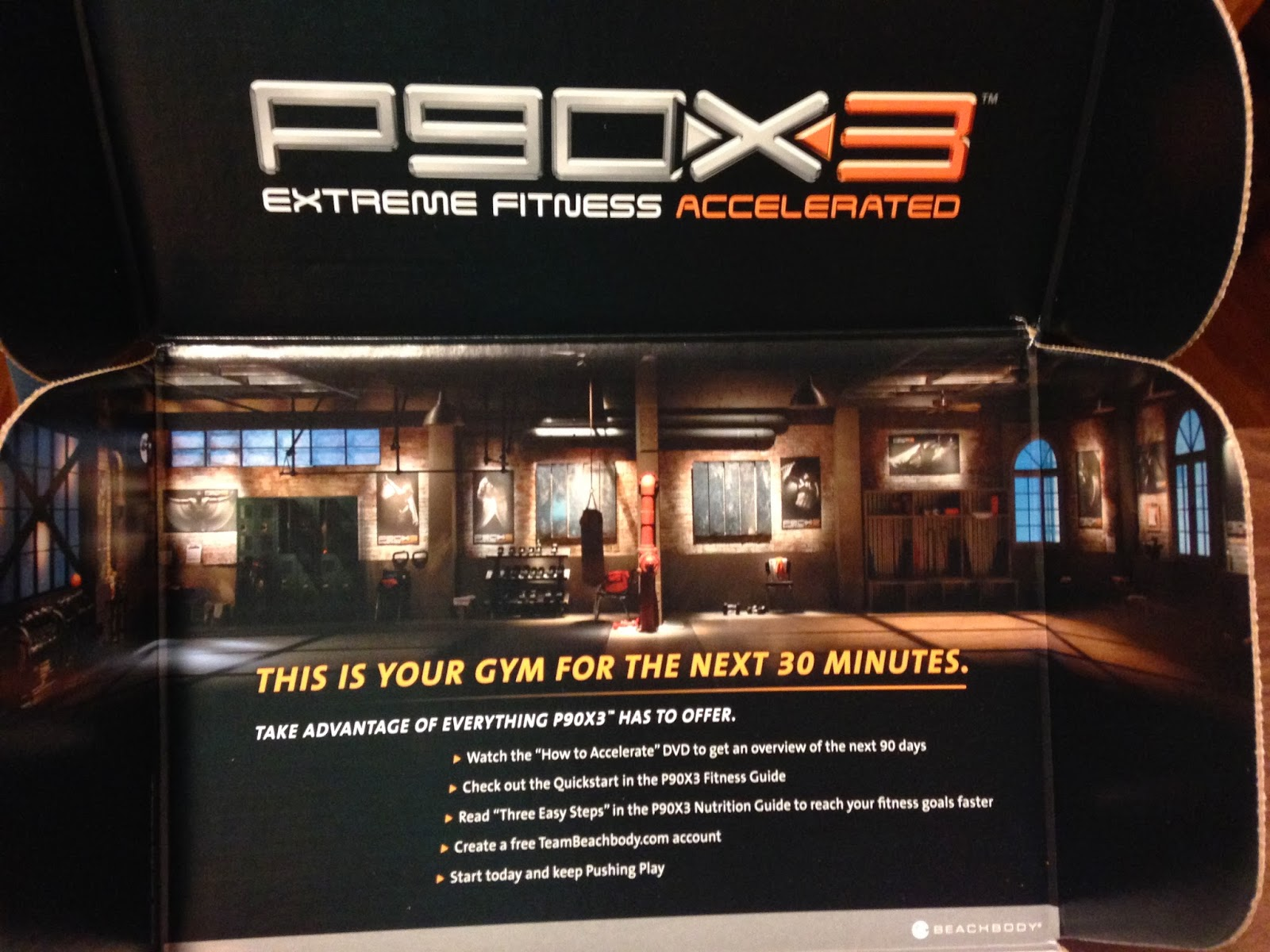 fill me with meaning: Review: P90X3 Initial Impressions
