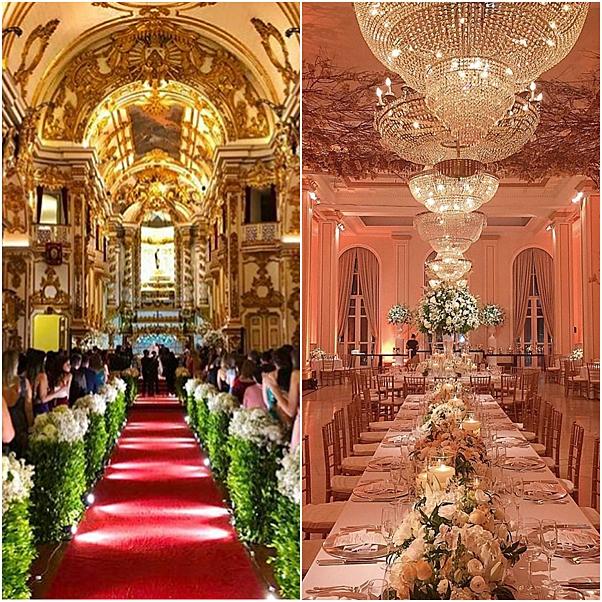casamento cantor matheus e paula decoração