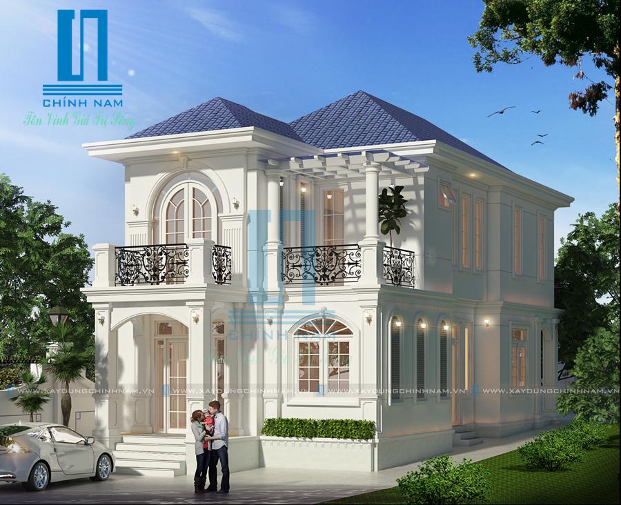 Thiết kế biệt thự đẹp ở Biên Hòa