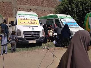 قافلة طبية بقرية السنباط بمركز الفيوم