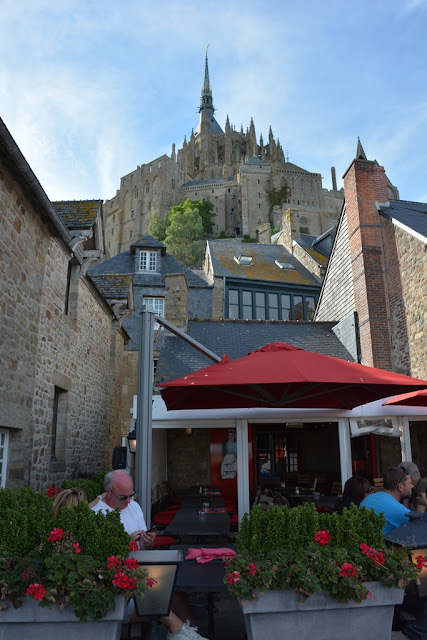 Mont Saint-Michel city abbey