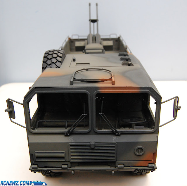 RC4WD Beast 2 6x6 camouflage paint