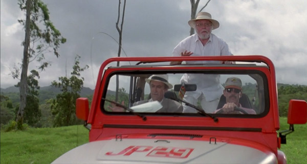 Richard Attenborought en Jurassic Park