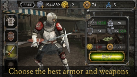 Knights Fight Medieval Arena Mod