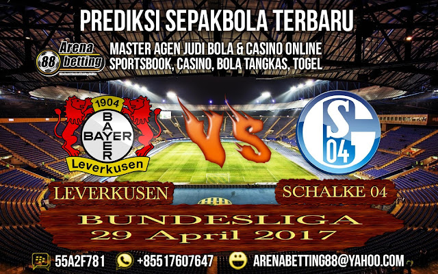 PREDIKSI BUNDESLIGA  LEVERKUSEN  Vs  SCHALKE 04 29 April 2017