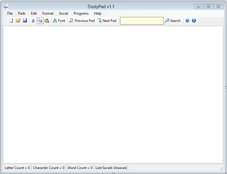 DustyPad Freeware