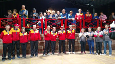 Eisstocksport realiza competição master antes da Copa América