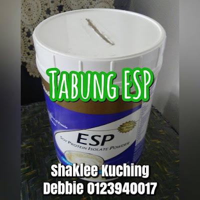 Bekas ESP Shaklee Dijadikan Tabung Duit