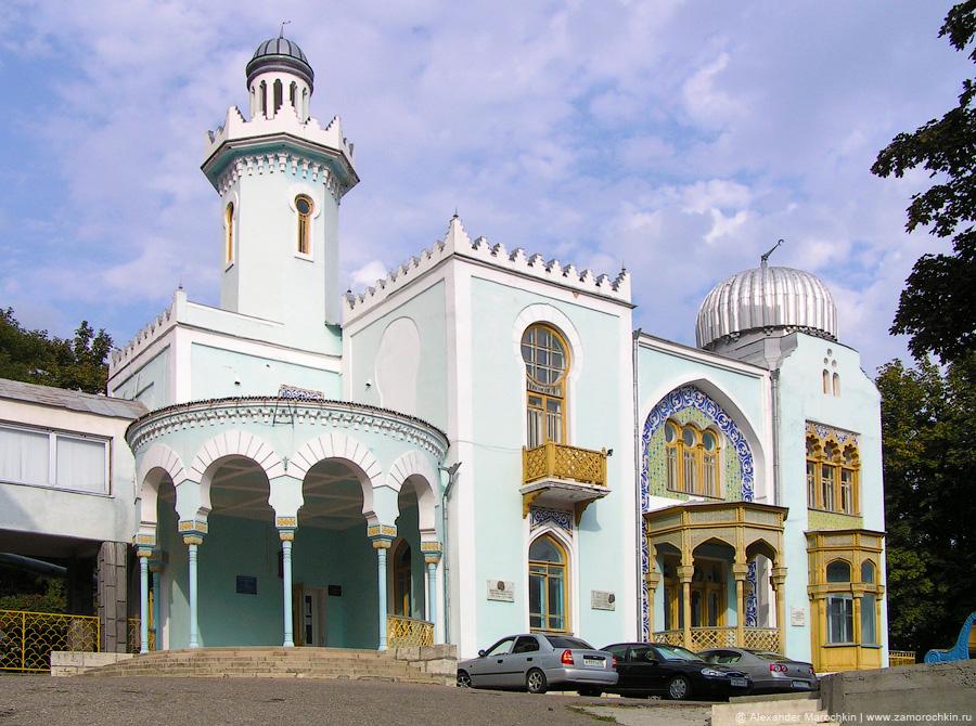Дача эмира Бухарского - памятник архитектуры
