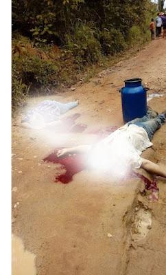 Casal de trabalhadores rurais é morto a tiros durante assalto em Nova Mamoré