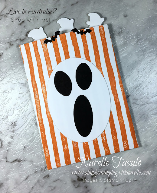 Need some quick and easy Halloween ideas? Then make sure you check out these - Simply Stamping with Narelle