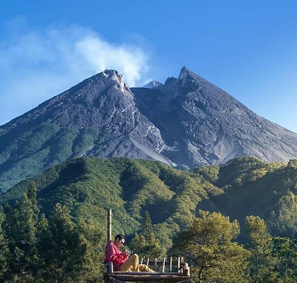 tempat wisata populer di Jogja Bukit Klangon Merapi