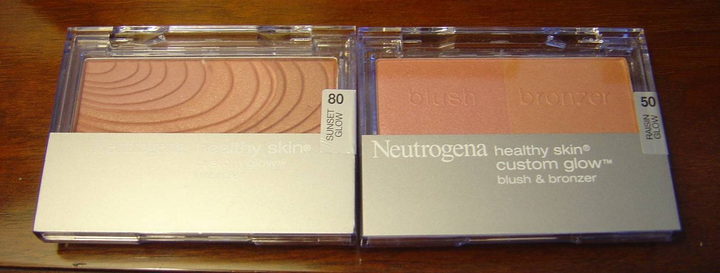 Neutrogena Cosmetics bronzer and blush