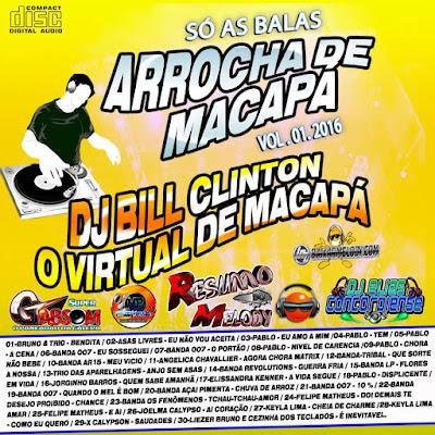 CD ARROCHA DE MACAPÁ VOL.01  PRODUÇÕES RESUMO DO MELODY 23/02/2016