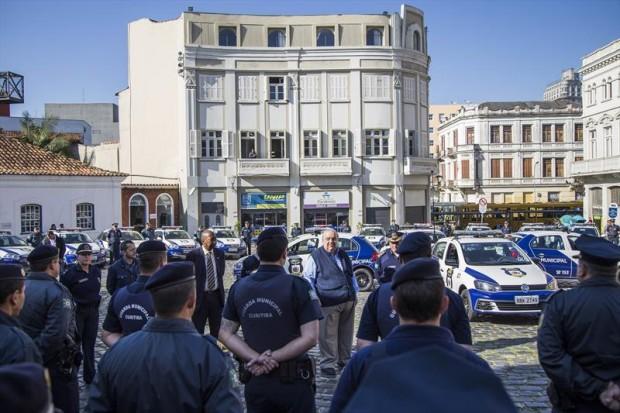 Guarda Municipal de Curitiba (PR) recebe 35 novas viaturas