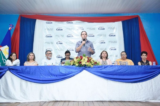 Prefeito Fábio Gentil afirma durante Conferência Municipal de Educação que os professores contratados terão abono salarial