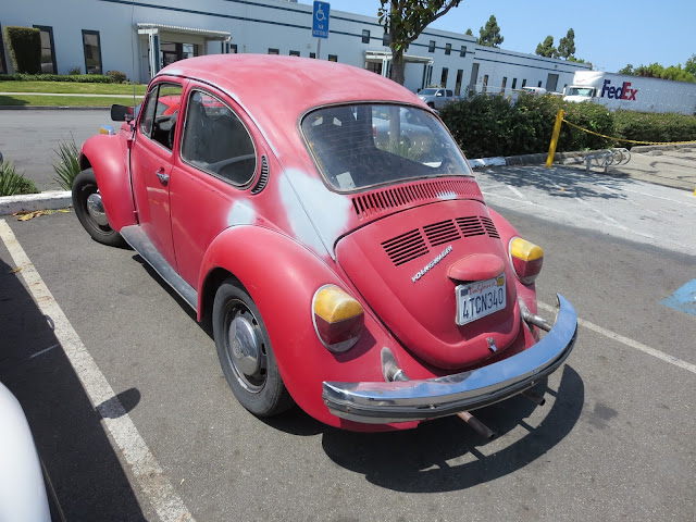 1974 Volkswagen Beetle before getting new paint at Almost-Everything Auto Body
