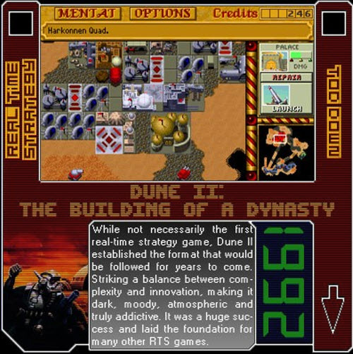 1992 - Dune II: The Building Of A Dinasty
