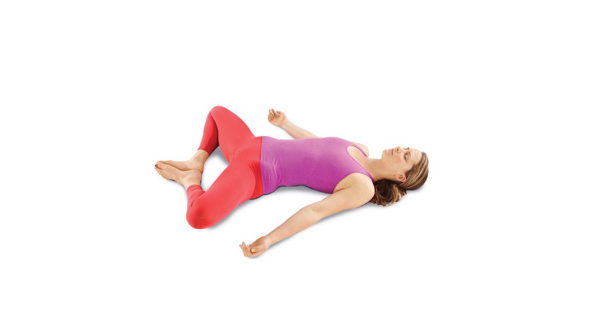 Restorative Yoga Goddess Pose