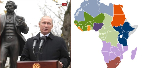 Africa is just a Cemetery for Africans – Vladimir Putin