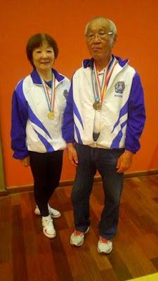 Tênis de mesa registrense conquista medalha de ouro nos Jogos Regionais do Idoso