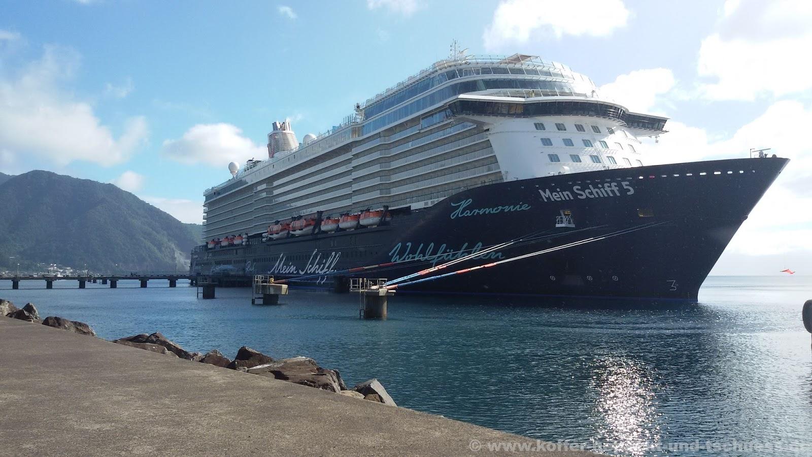 Koffer gepackt und tschuess: Karibik Kreuzfahrt mit Mein Schiff 5