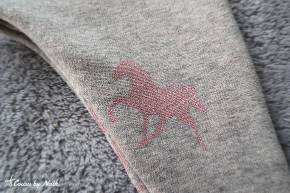 chevaux à paillettes