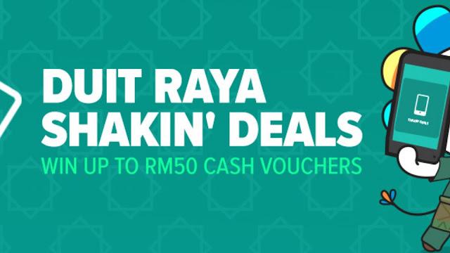 Duit Raya Lazada Shakin' Deal