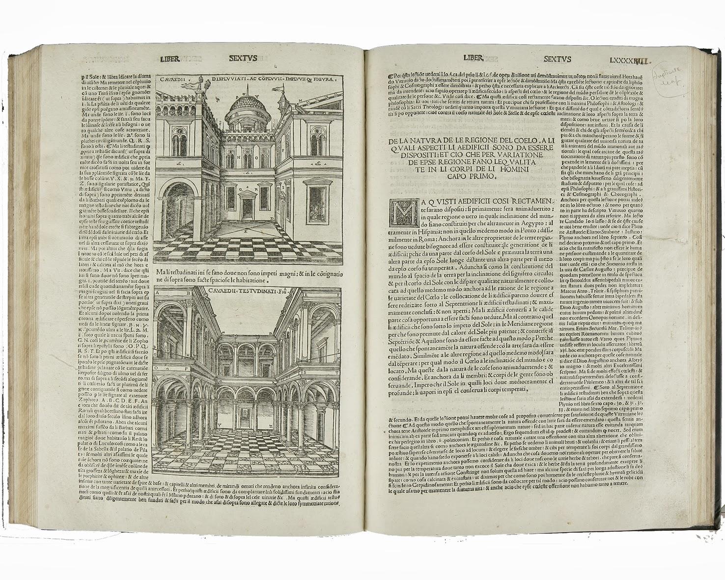 Arte y arquitectura vitruvio y sus 10 libros de for Libro de dimensiones arquitectura