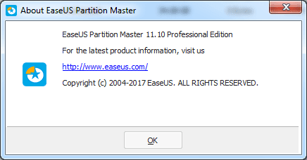 EASEUS Partition Master 11.10 Crack