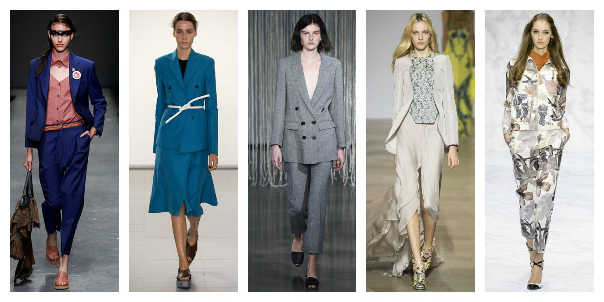 lfw ss16 trend report suits skirt trousers vivienne westwood paul smith