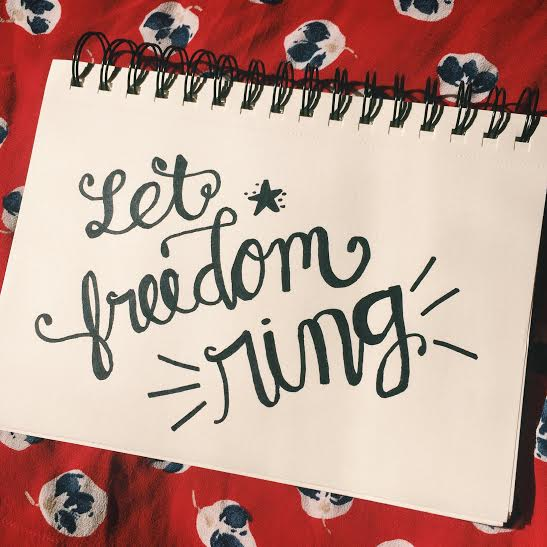 Let Freedom Ring Doodle  from Eloise Edition