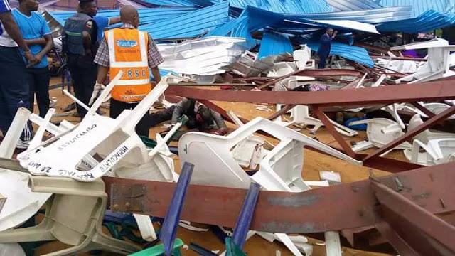 Uyo - Reigners Bible Church Collapse