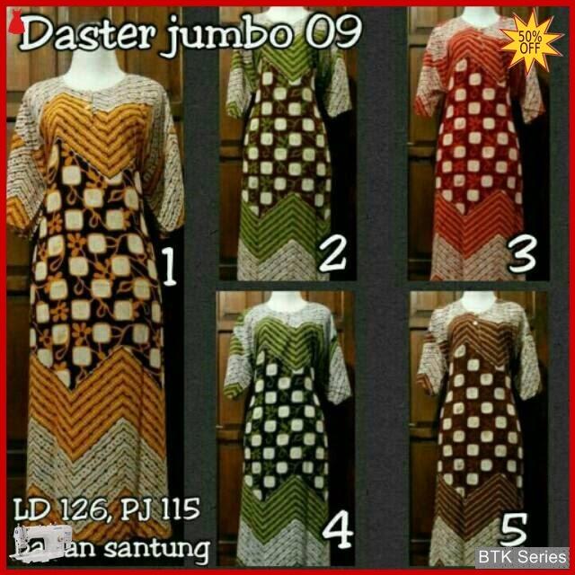 BTK032 Baju Daster Jumbo Anggita Dress Batik Murah BMGShop