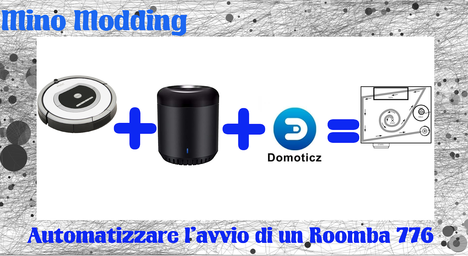 Mino Modding: Automatizzare l'avvio di un Roomba 776
