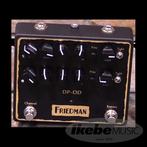 stomp box steals teaser the friedman dp od a deluxe be od switchable from crunch to shred. Black Bedroom Furniture Sets. Home Design Ideas