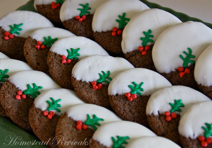 Unique Christmas Cookies.Homestead Revival Simple Cookies With Big Flare