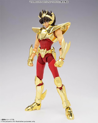 Seiya de Pegaso EX ~Golden Limited Edition~ para la Tamashii Nations Tokio 2019