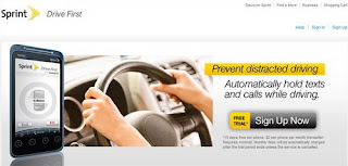 Sprint Drive First app keeps driver's focus on driving