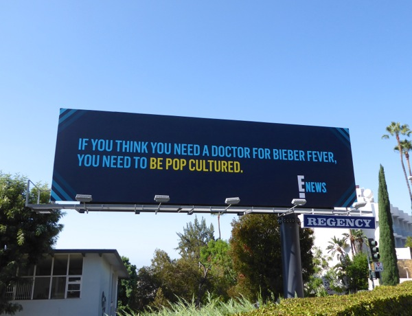 E News Bieber fever pop cultured billboard