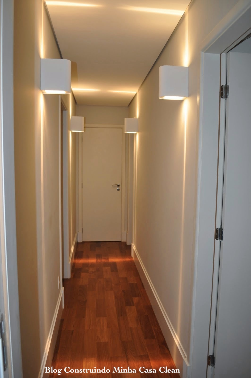 Construindo Minha Casa Clean Arandelas Iluminando e