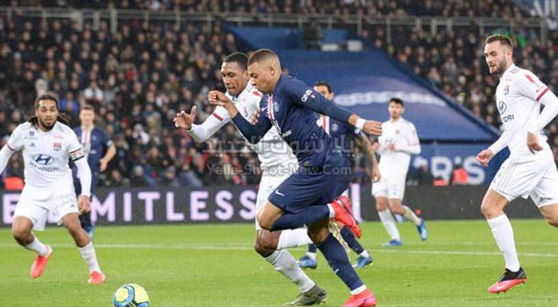 باريس سان جيرمان يحقق انتصار كاسح علي نادي ليون ويصل لنهائي كأس فرنسا